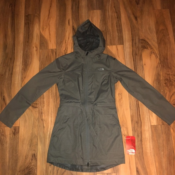 Womens The North Face Outdoor Trench Coat 1b6abcf86